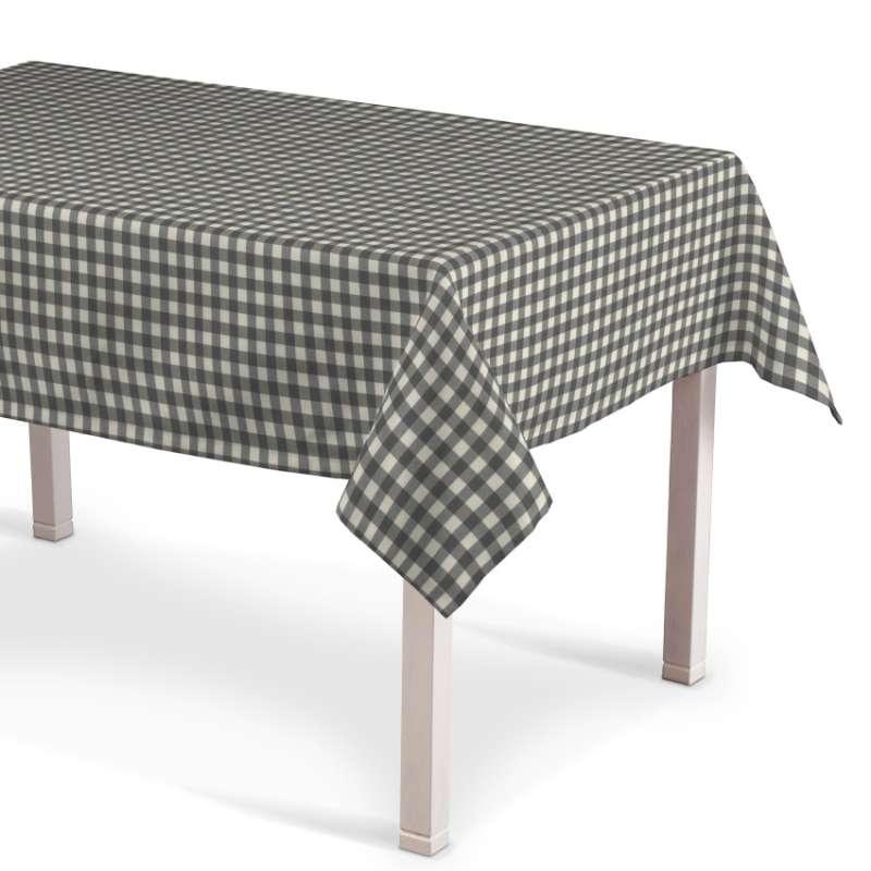 Rektangulær bordduk fra kolleksjonen Quadro, Stoffets bredde: 136-11