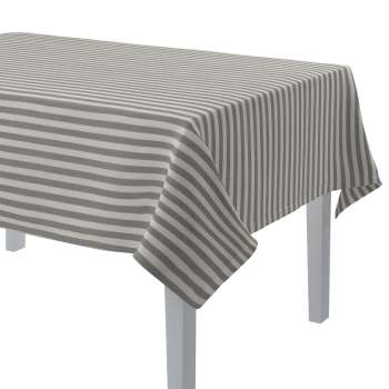 Rectangular tablecloth 130 x 130 cm (51 x51 inch) in collection Quadro, fabric: 136-12