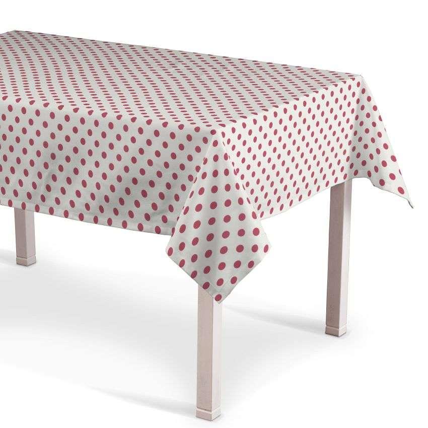 Rechteckige Tischdecke 130 x 130 cm von der Kollektion Ashley, Stoff: 137-70