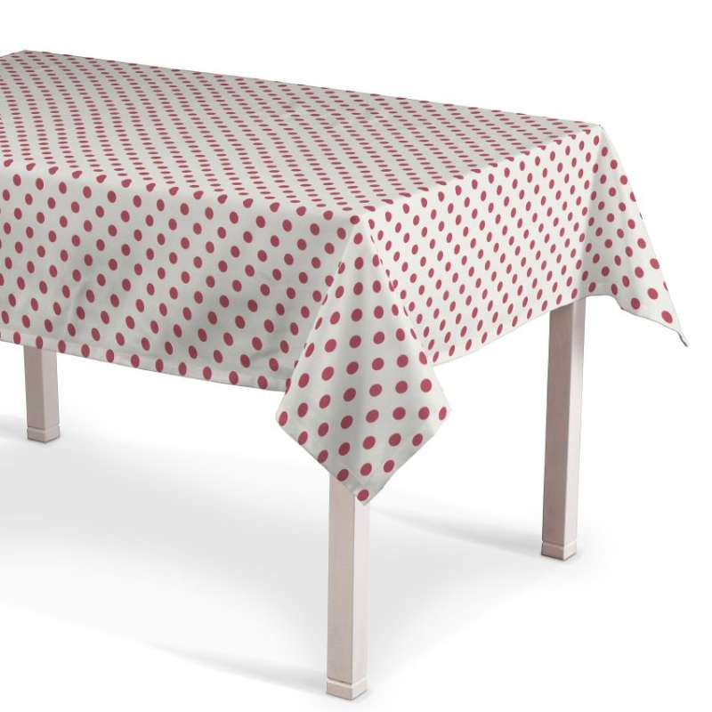 Rectangular tablecloth in collection Little World, fabric: 137-70