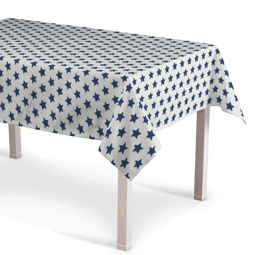 Rectangular tablecloth 130 x 130 cm (51 x51 inch) in collection Ashley, fabric: 137-71