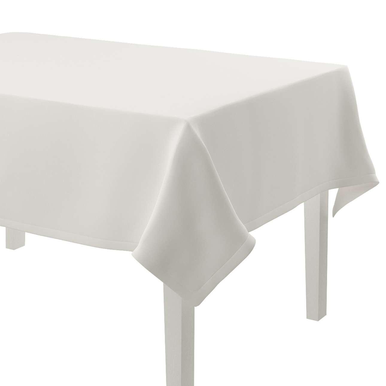 Rechteckige Tischdecke 130 x 130 cm von der Kollektion Cotton Panama, Stoff: 702-34