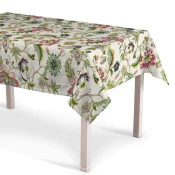 Rechthoekig tafelkleed 130 × 130 cm van de collectie Londres , Stof: 122-00