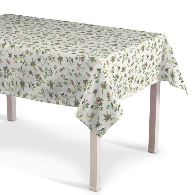 Rektangulär bordsduk i kollektionen Londres, Tyg: 122-02