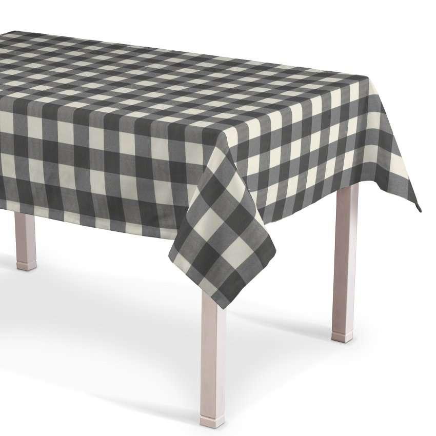 Rektangulær bordduk fra kolleksjonen Quadro, Stoffets bredde: 136-13