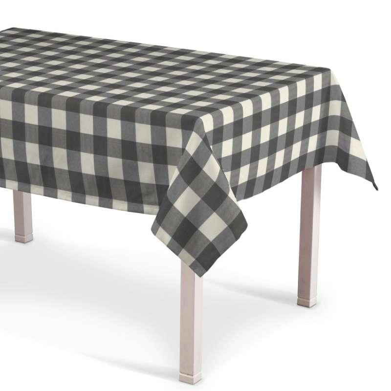 Obrus na stôl obdĺžnikový V kolekcii Quadro, tkanina: 136-13