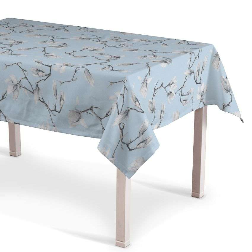 Rectangular tablecloth 130 x 130 cm (51 x51 inch) in collection Flowers, fabric: 311-14