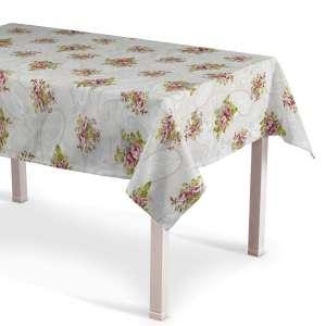 Rechteckige Tischdecke 130 x 130 cm von der Kollektion Flowers, Stoff: 311-15