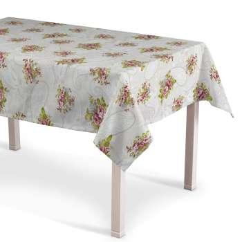 Staltiesės (stalui su kampais) 130 x 130 cm kolekcijoje Flowers, audinys: 311-15