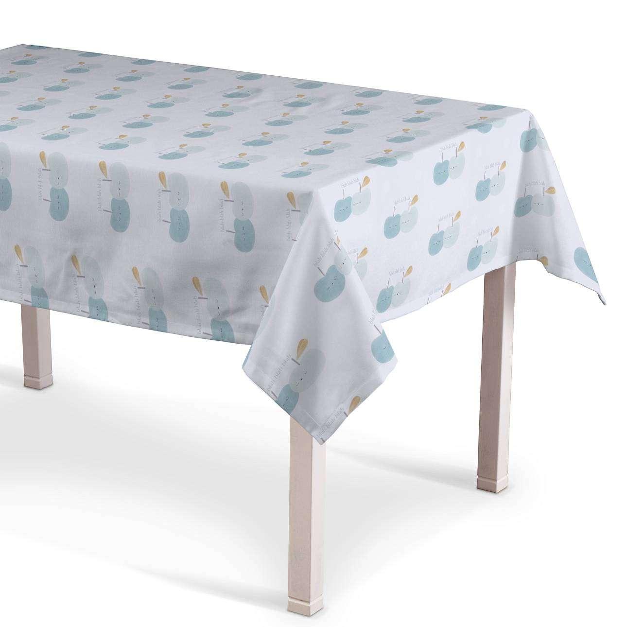 Rechteckige Tischdecke 130 x 130 cm von der Kollektion Apanona, Stoff: 151-02