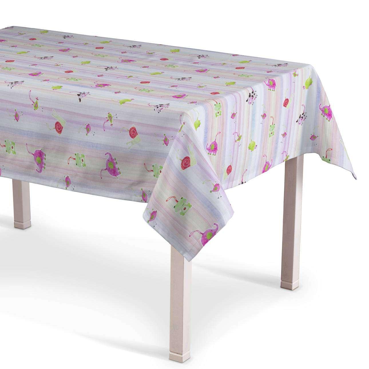 Asztalterítő téglalap alakú 130 x 130 cm a kollekcióból Apanona, Dekoranyag: 151-05