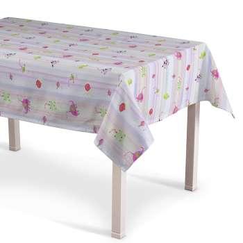 Rektangulære borddug 130 x 130 cm fra kollektionen Apanona, Stof: 151-05