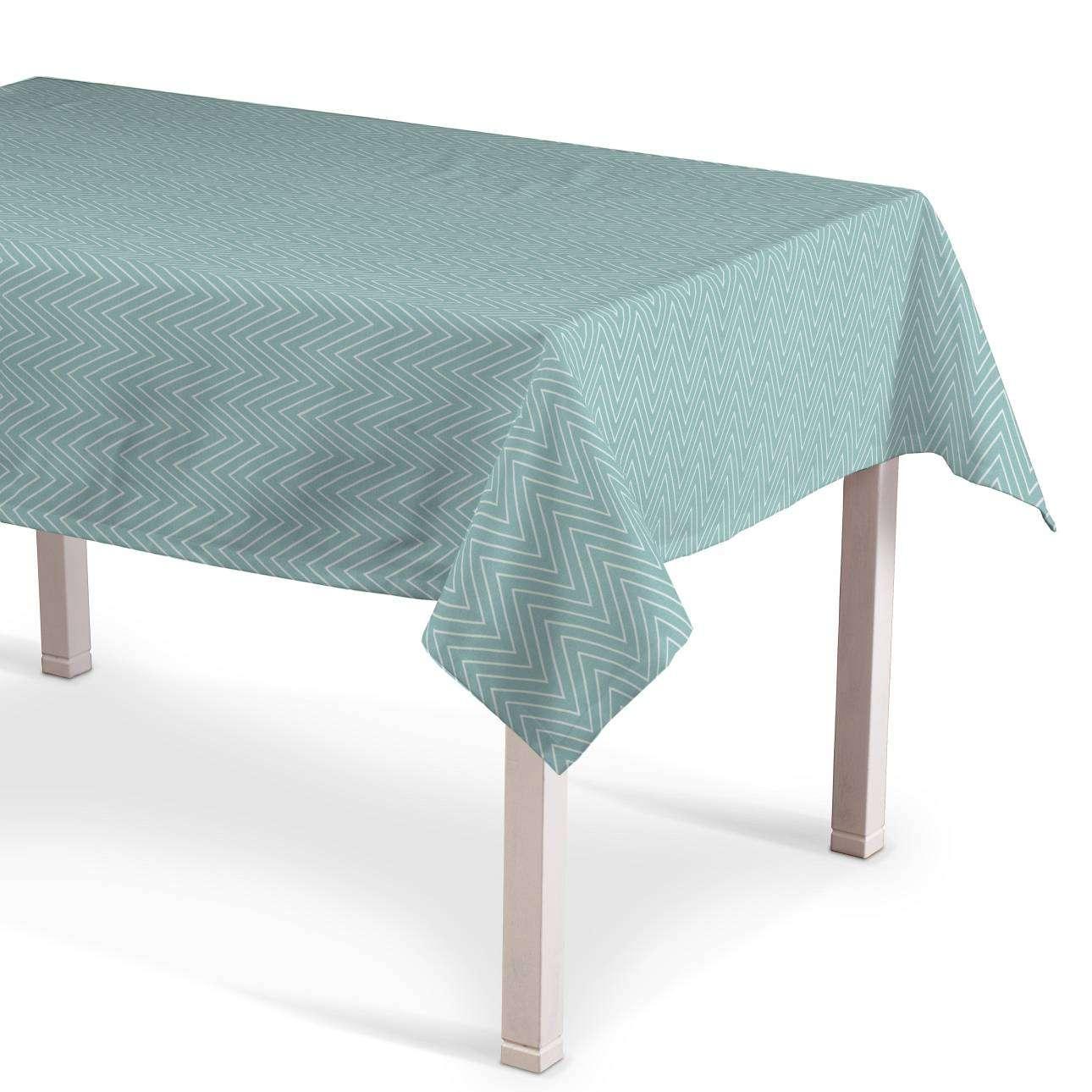 Rektangulær bordduk fra kolleksjonen Brooklyn , Stoffets bredde: 137-90