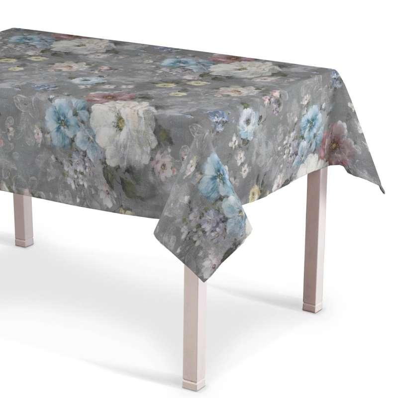 Rektangulær bordduk fra kolleksjonen Monet , Stoffets bredde: 137-81
