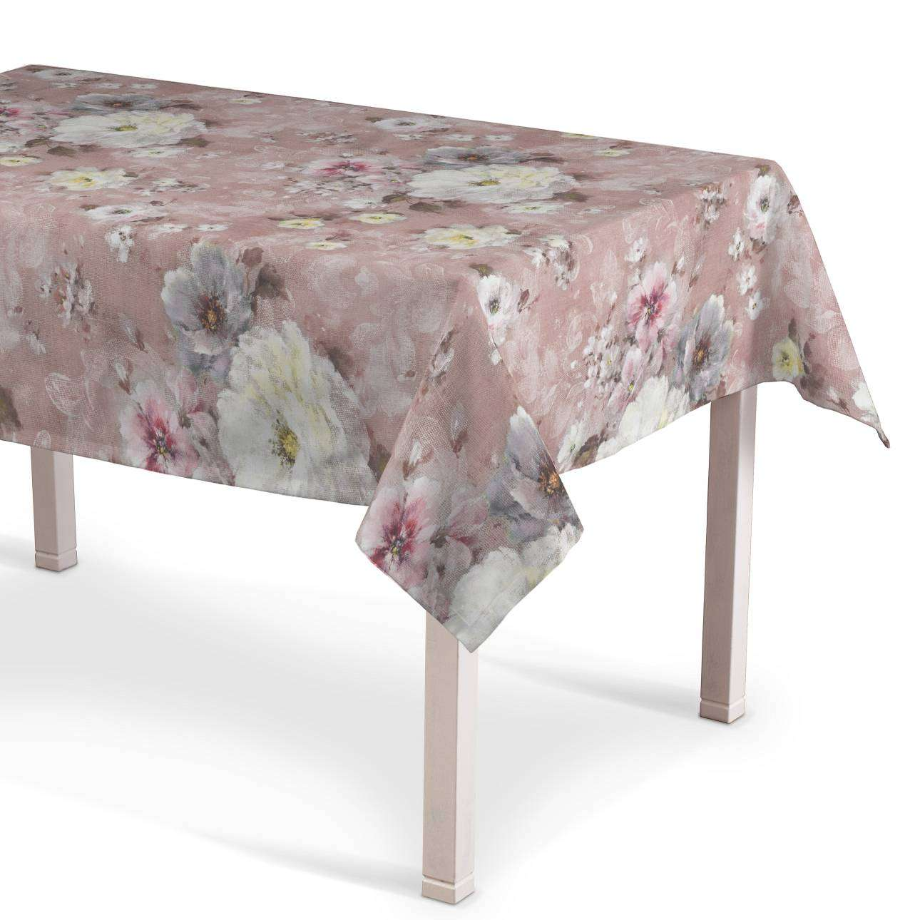 Asztalterítő téglalap alakú 130 x 130 cm a kollekcióból Monet, Dekoranyag: 137-83