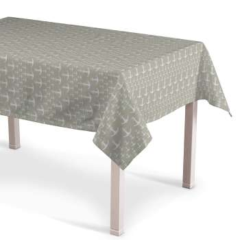 Rectangular tablecloth 130 x 130 cm (51 x51 inch) in collection Marina, fabric: 140-63