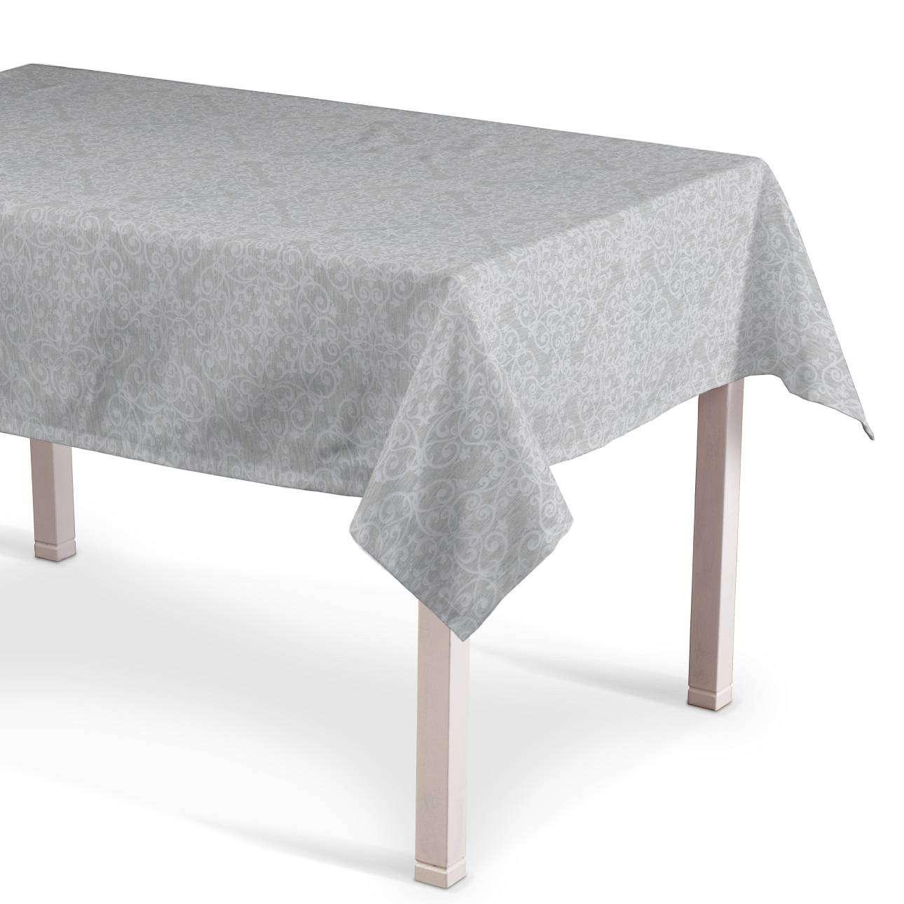 Rektangulær bordduk 130 x 130 cm fra kolleksjonen Venice, Stoffets bredde: 140-49