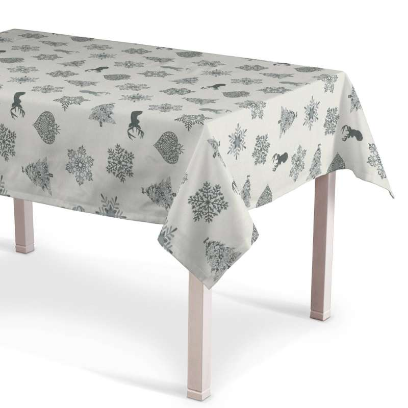 Rectangular tablecloth in collection Christmas, fabric: 630-24
