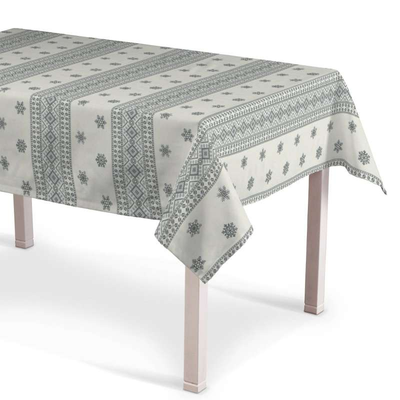 Rectangular tablecloth in collection Christmas, fabric: 630-25