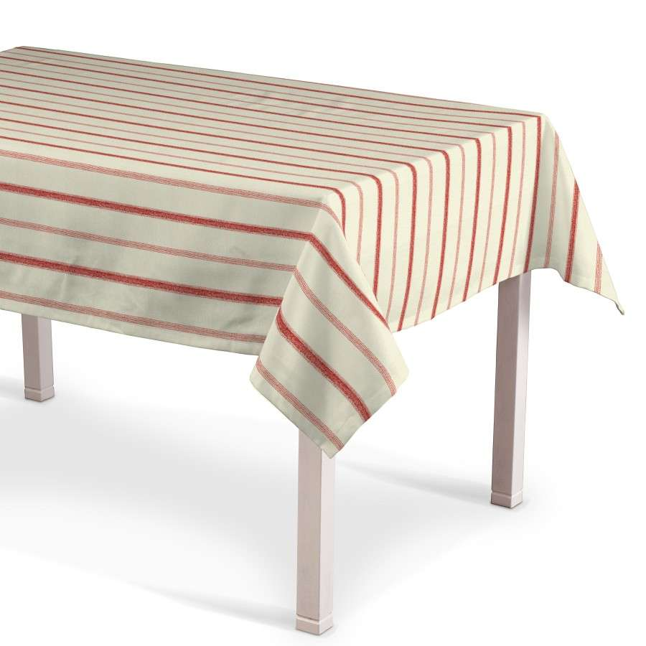 Rektangulær bordduk 130 x 130 cm fra kolleksjonen Avinon, Stoffets bredde: 129-15