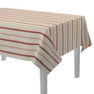 Rektangulære borddug 130 x 130 cm fra kollektionen Avinon, Stof: 129-15