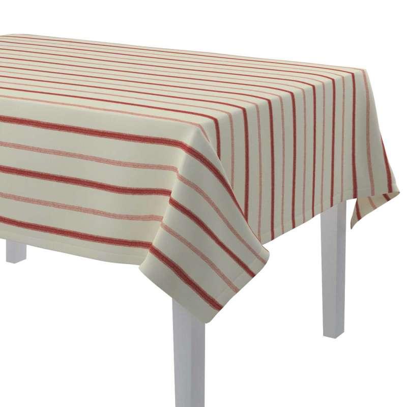 Rektangulær bordduk fra kolleksjonen Avinon, Stoffets bredde: 129-15