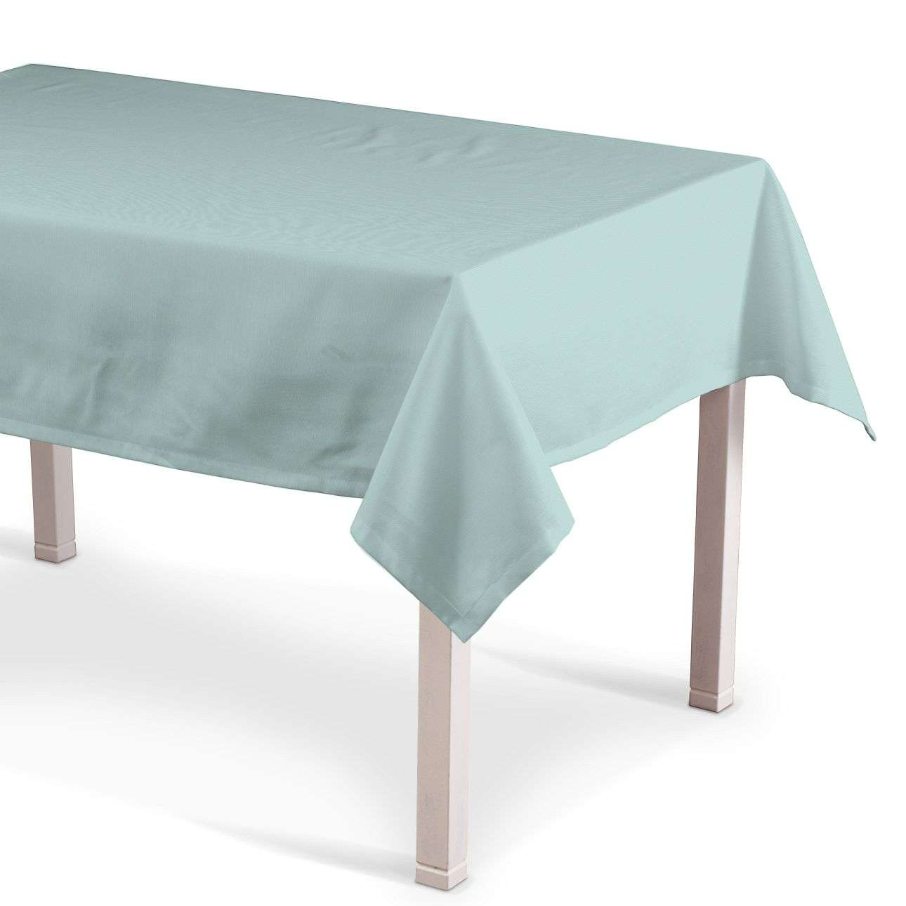Rechteckige Tischdecke 130 x 130 cm von der Kollektion Cotton Panama, Stoff: 702-10