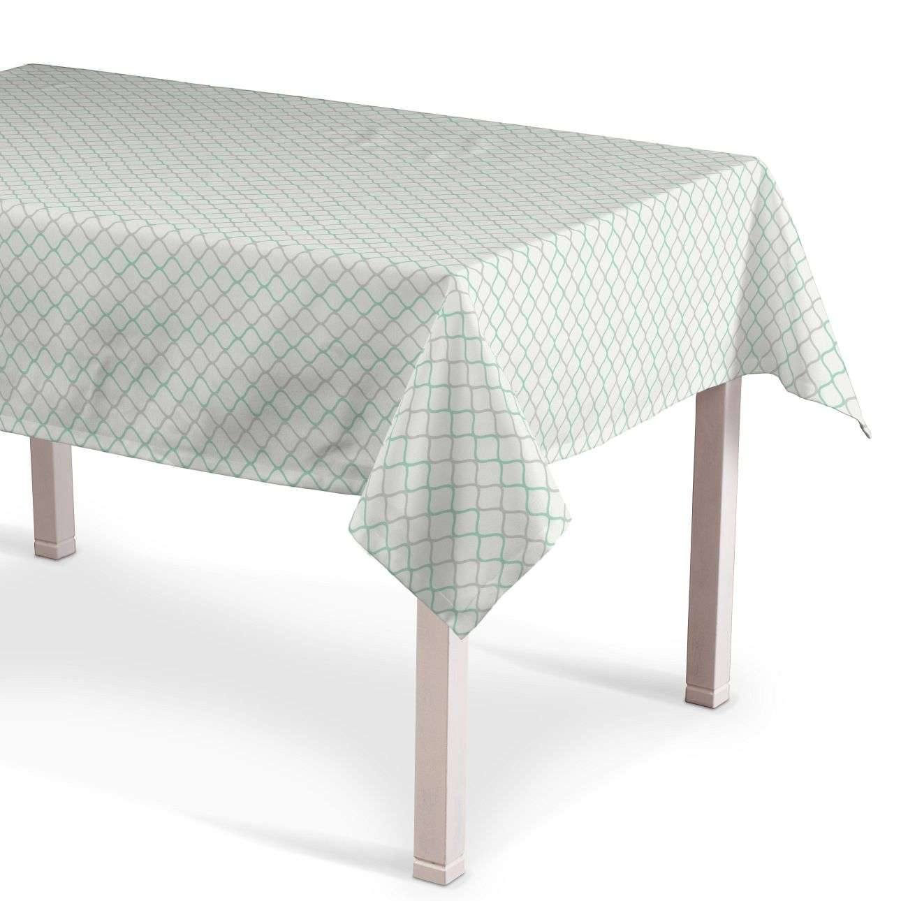 Rectangular tablecloth 130 × 130 cm (51 x51 inch) in collection Geometric, fabric: 141-47