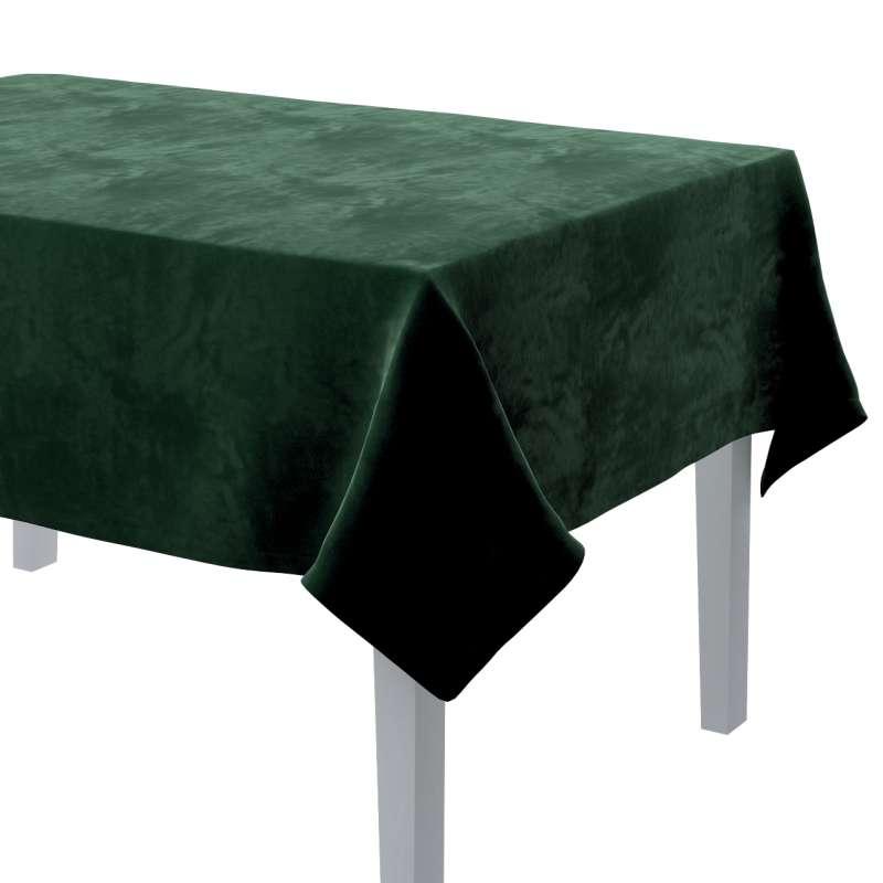 Rektangulær bordduk fra kolleksjonen Velvet, Stoffets bredde: 704-13