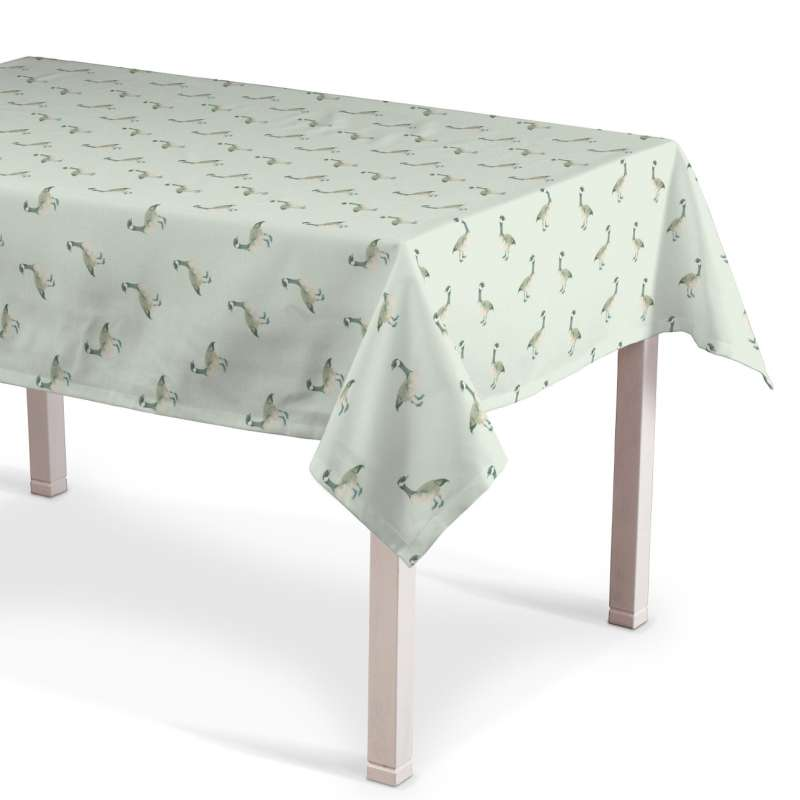 Rectangular tablecloth in collection Flowers, fabric: 141-79