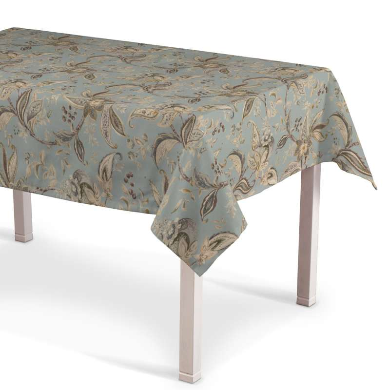 Rechteckige Tischdecke von der Kollektion Gardenia, Stoff: 142-18