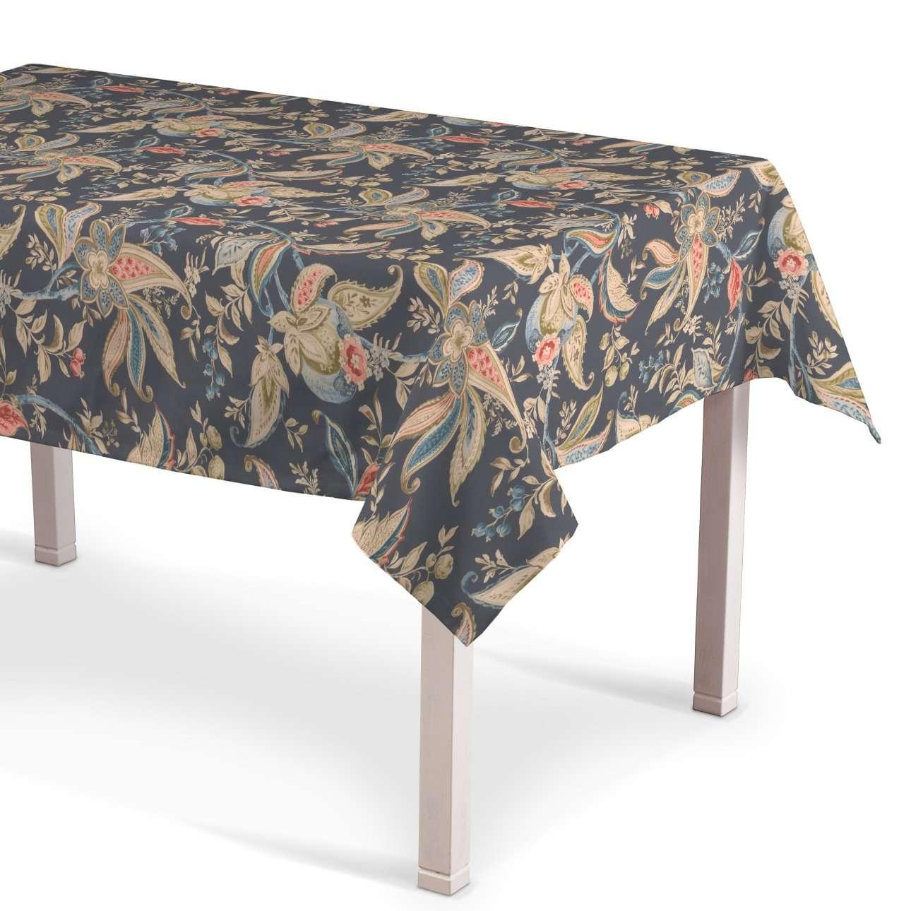 Rechteckige Tischdecke, anthrazit-braun, 130 × 180 cm, Gardenia | Heimtextilien > Tischdecken und Co | Dekoria
