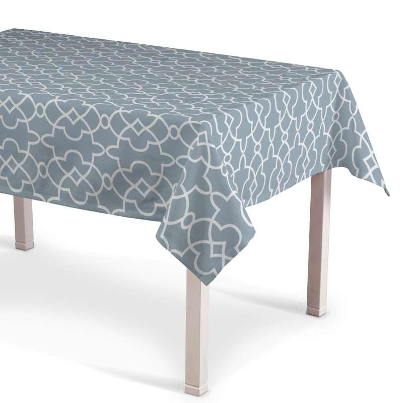 Rektangulär bordsduk i kollektionen Gardenia, Tyg: 142-22