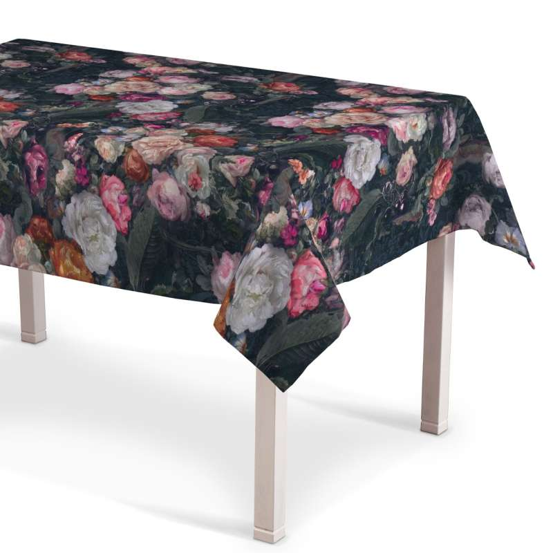 Rectangular tablecloth in collection Gardenia, fabric: 161-02