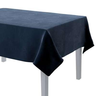 Rektangulær bordduk 704-29 Mørkeblå Kolleksjon Velvet