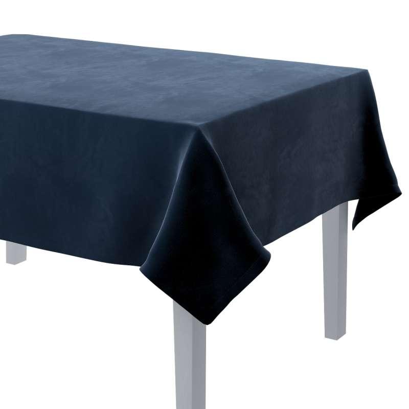 Rechteckige Tischdecke von der Kollektion Velvet, Stoff: 704-29