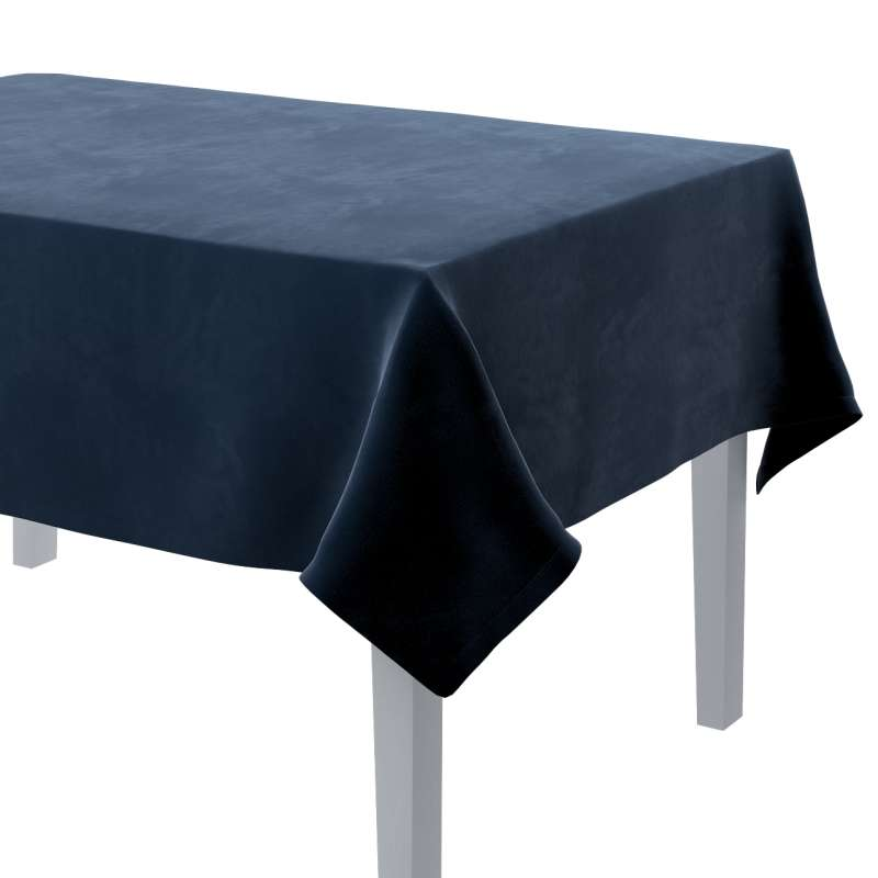 Rectangular tablecloth in collection Velvet, fabric: 704-29
