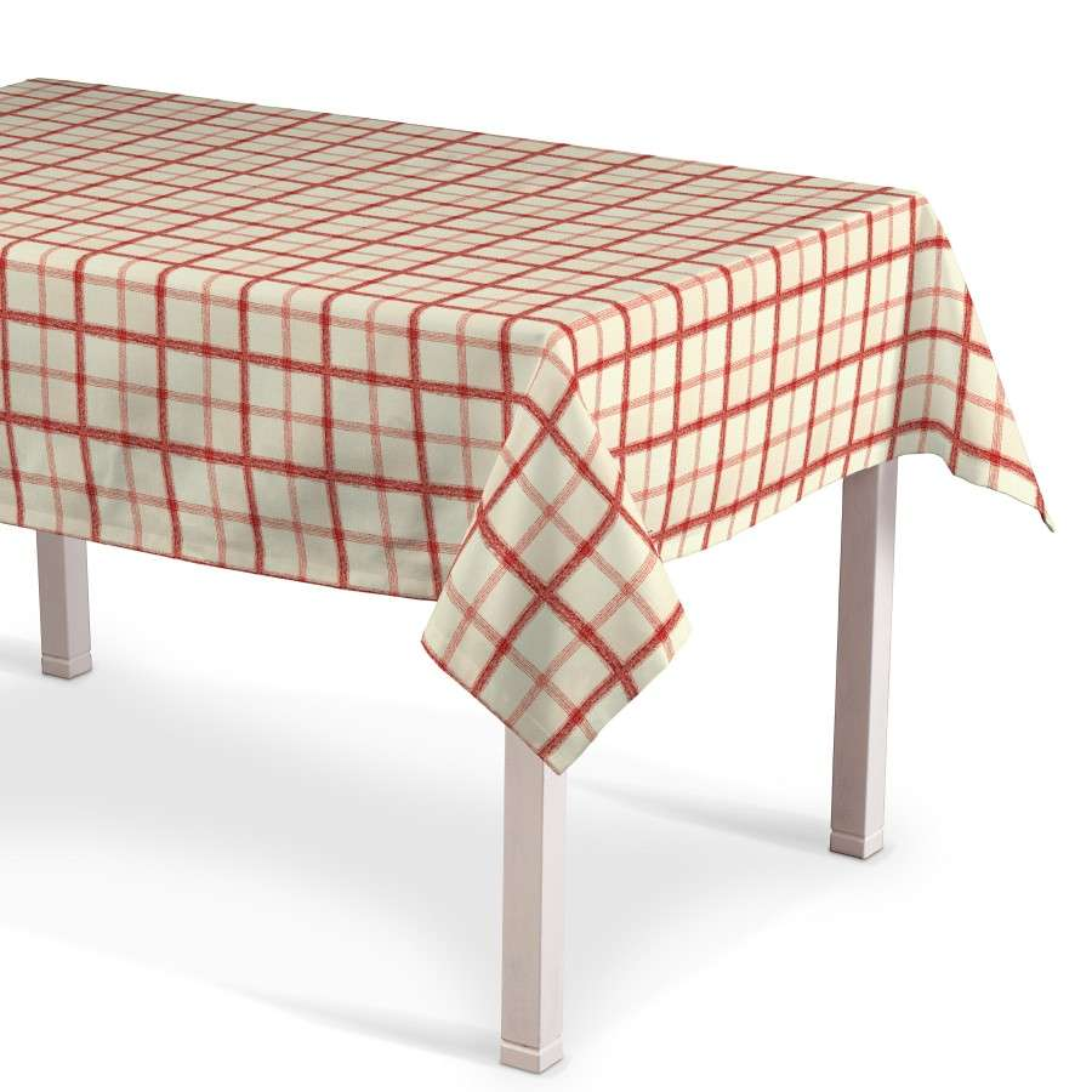 Rektangulære borddug 130 x 130 cm fra kollektionen Avinon, Stof: 131-15