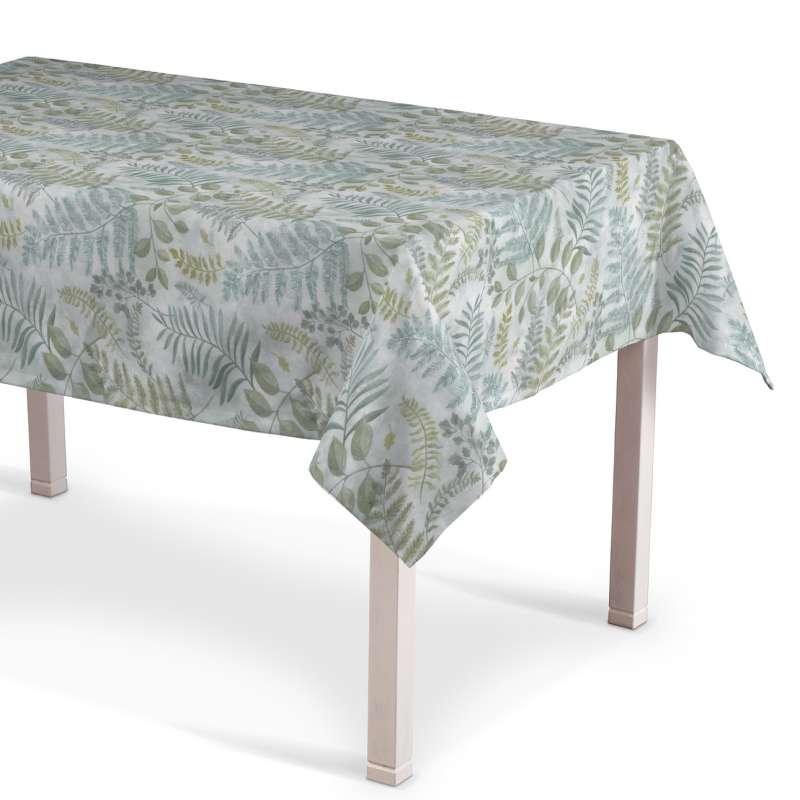 Rechteckige Tischdecke von der Kollektion Pastel Forest, Stoff: 142-46