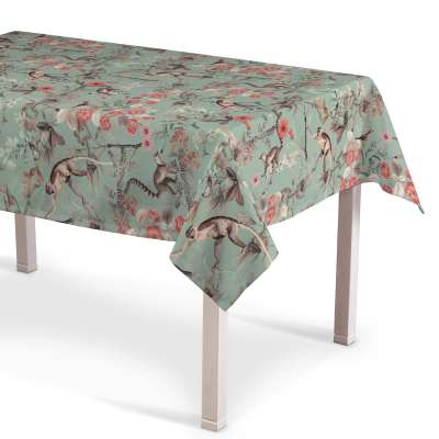 Rektangulære borddug fra kollektionen Tropical Island, Stof: 142-62