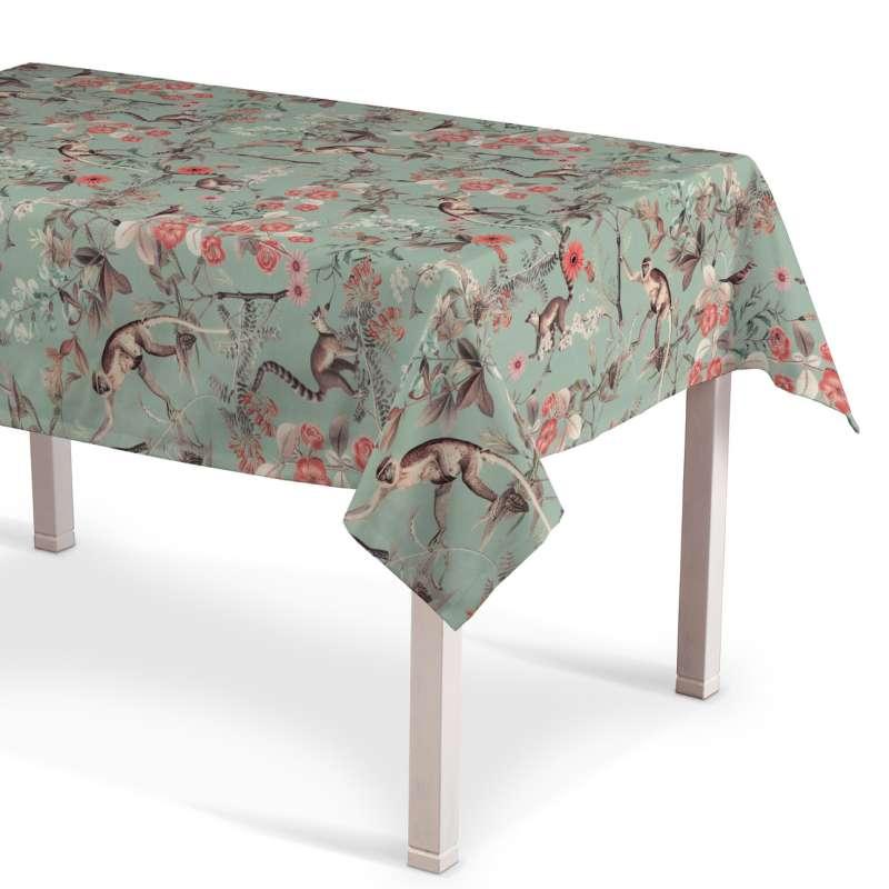 Rektangulär bordsduk i kollektionen Tropical Island, Tyg: 142-62