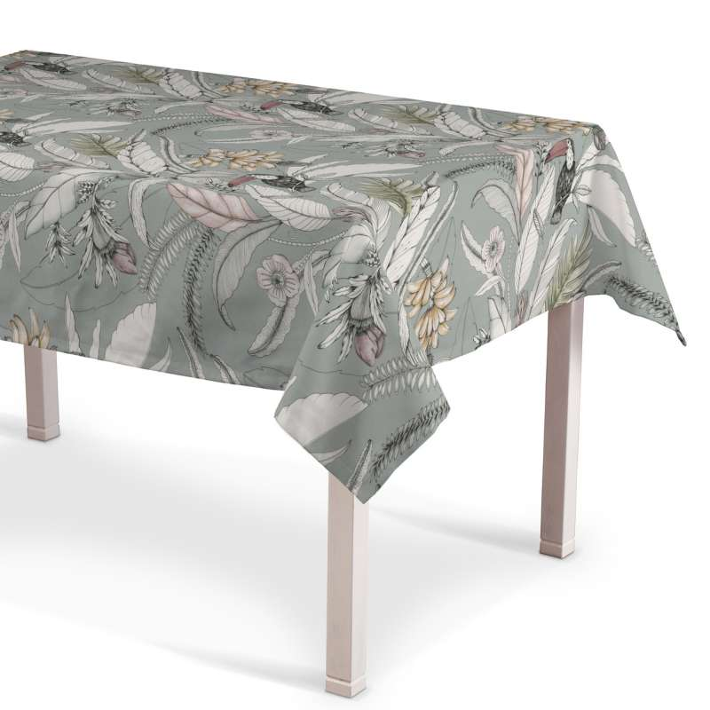 Rectangular tablecloth in collection Tropical Island, fabric: 142-64