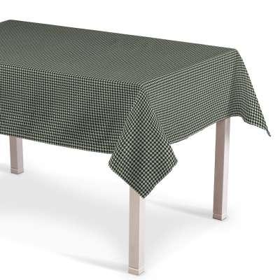 Rektangulær bordduk fra kolleksjonen Black & White, Stoffets bredde: 142-77