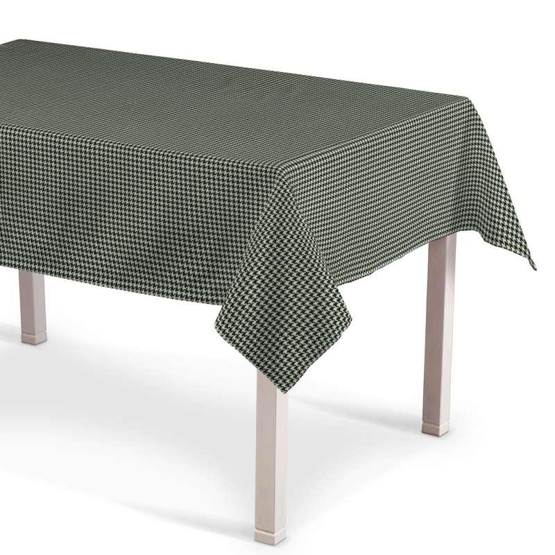 Rektangulär bordsduk  i kollektionen Black & White, Tyg: 142-77