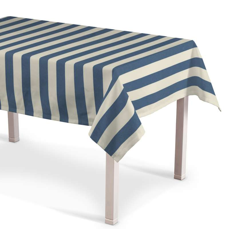 Rechteckige Tischdecke von der Kollektion Quadro, Stoff: 142-70