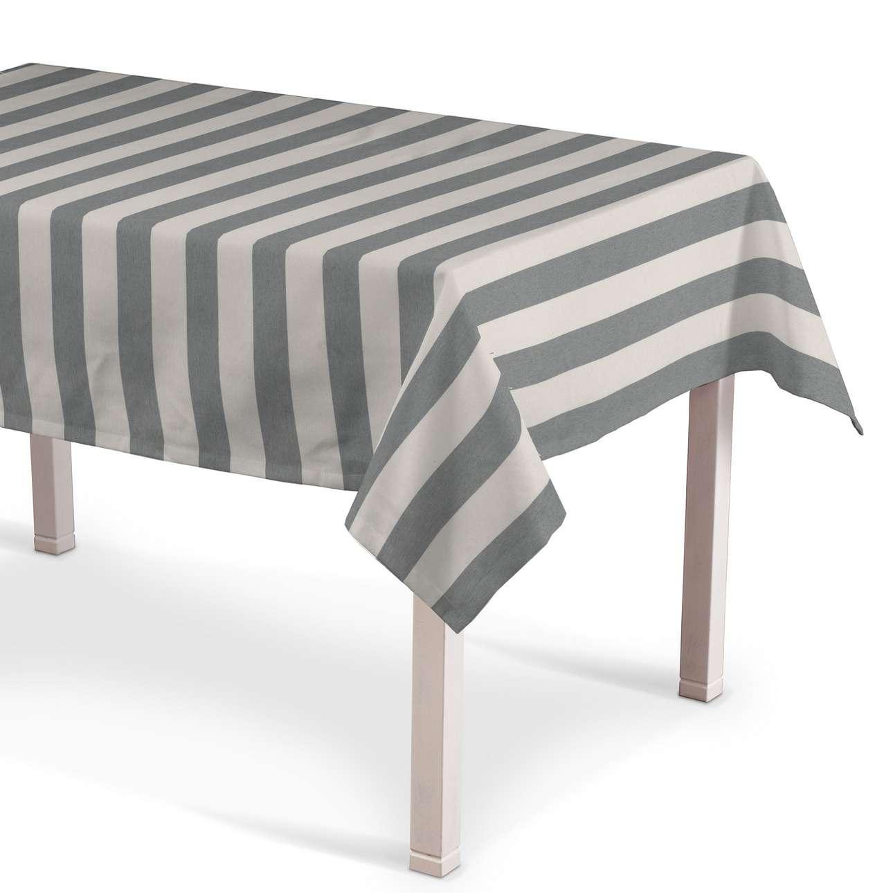 Rektangulær bordduk fra kolleksjonen Quadro, Stoffets bredde: 142-71