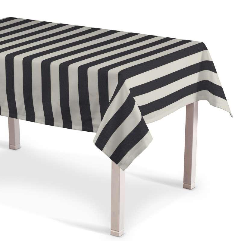 Rektangulær bordduk fra kolleksjonen Quadro, Stoffets bredde: 142-72