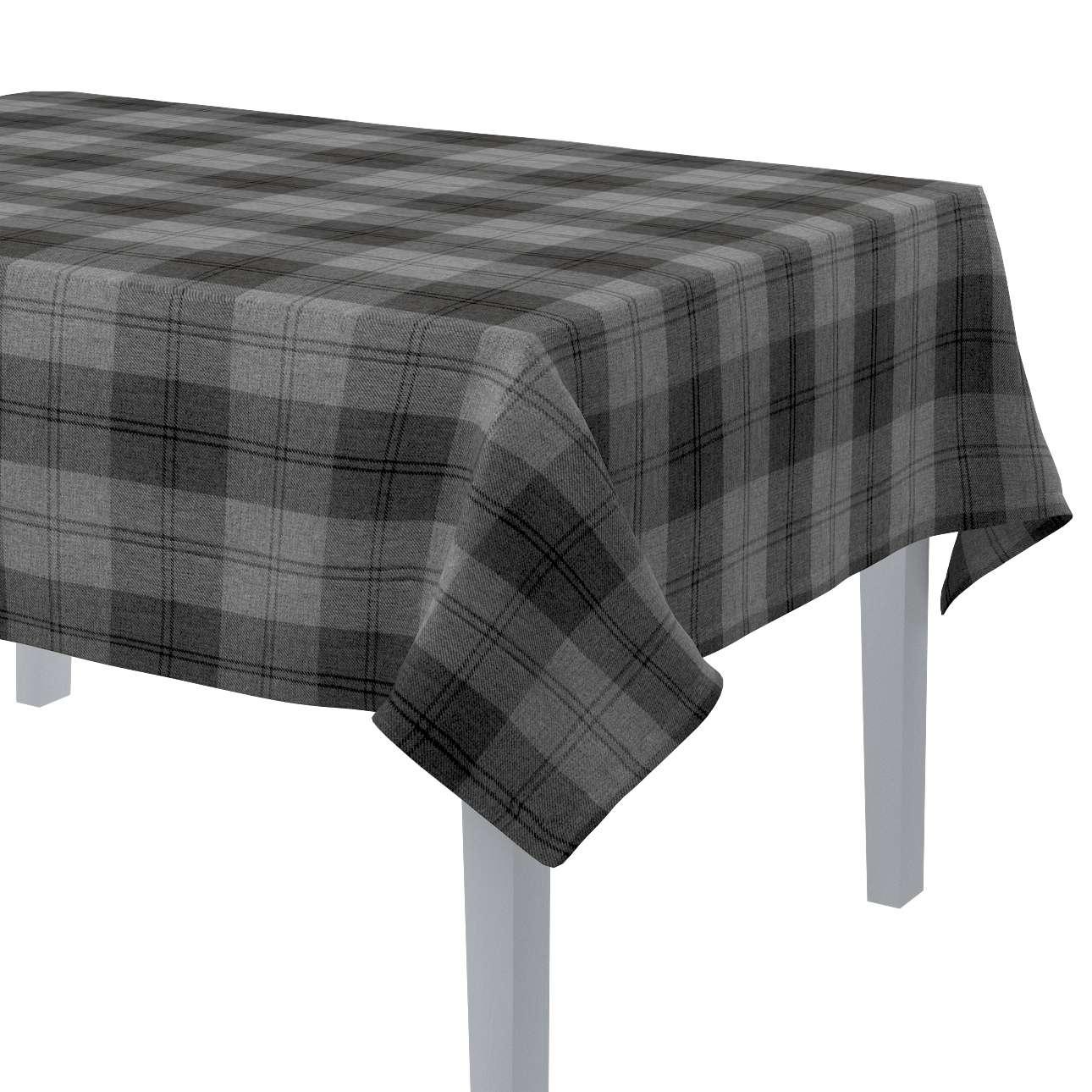 Rektangulær bordduk fra kolleksjonen Edinburgh, Stoffets bredde: 115-75