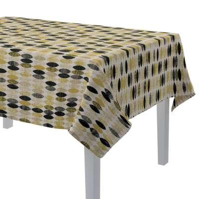 Rektangulære borddug 142-99 Naturhvid med print Kollektion Modern