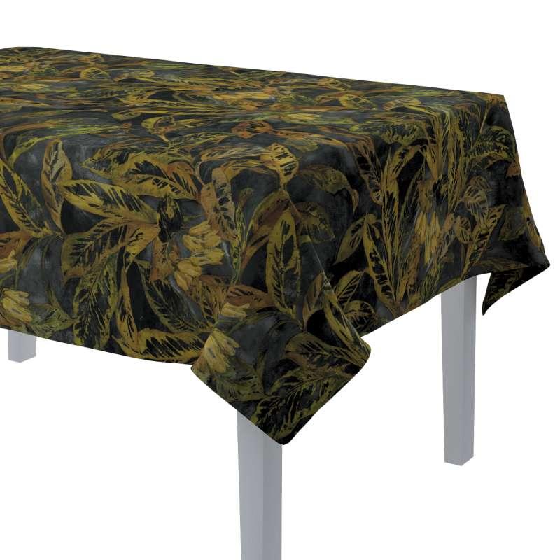 Rechteckige Tischdecke von der Kollektion Abigail, Stoff: 143-01